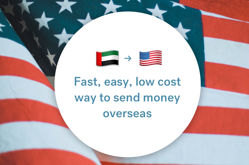 The best way to send money between the UAE and the USA