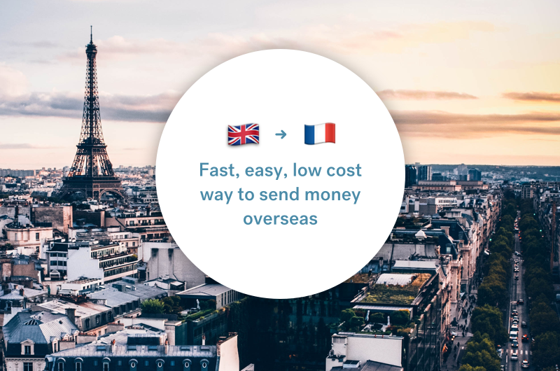 The best way to send money between the UK and France