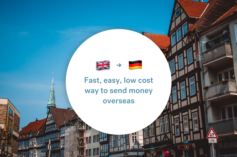 The best way to send money between the UK and Germany