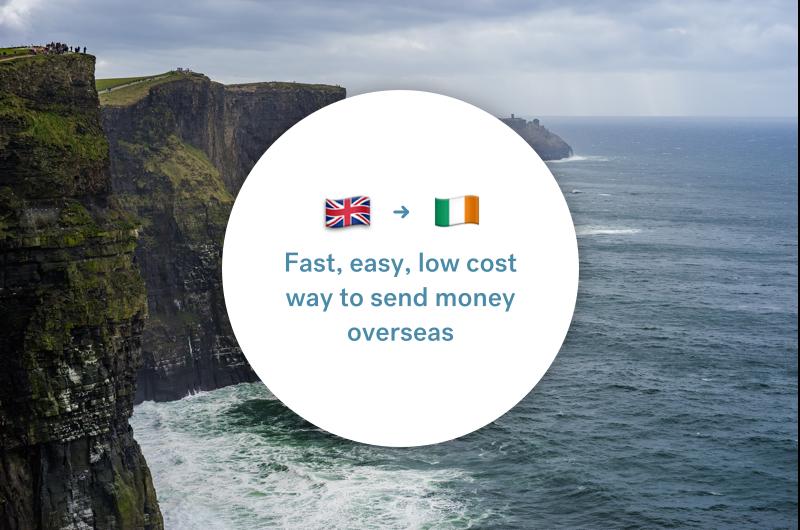 The best way to send money between the UK and Ireland