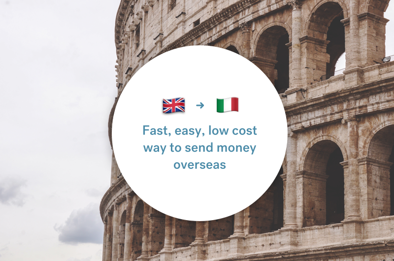 The best way to send money between the UK and Italy