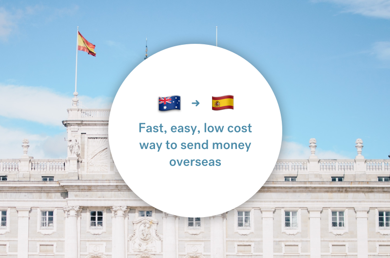 The best way to send money between Australia and Spain