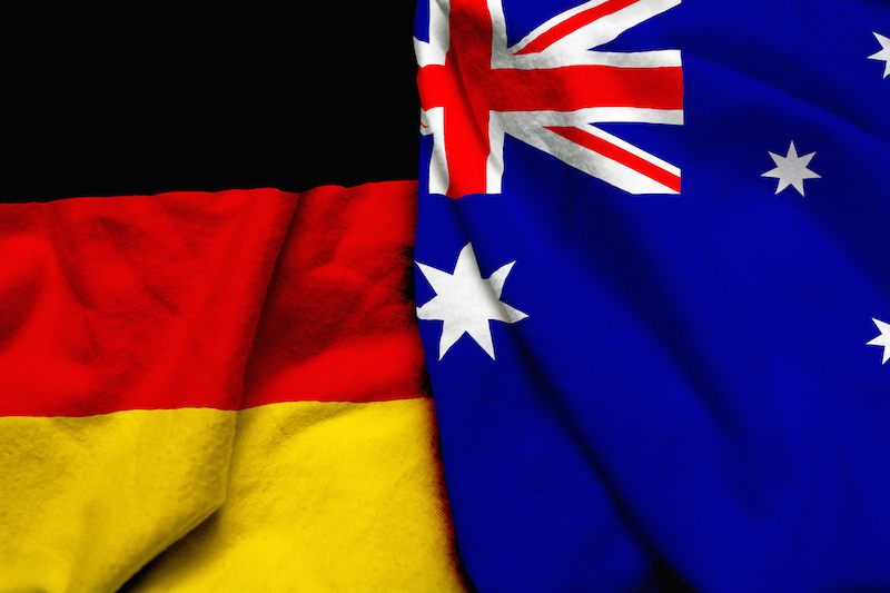 The best way to send money between Germany and Australia