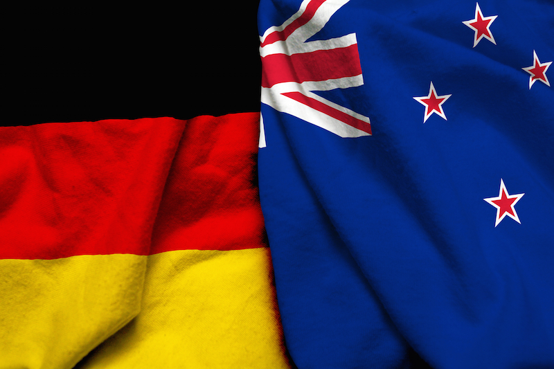 The best way to send money between Germany and New Zealand