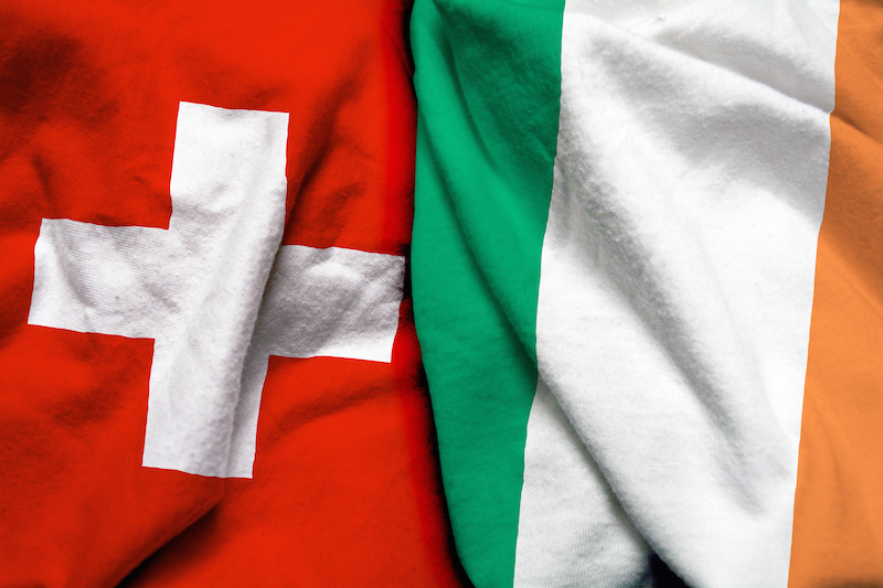 The best way to send money between Switzerland and Ireland