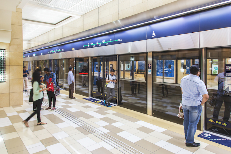 uae metro station indoors