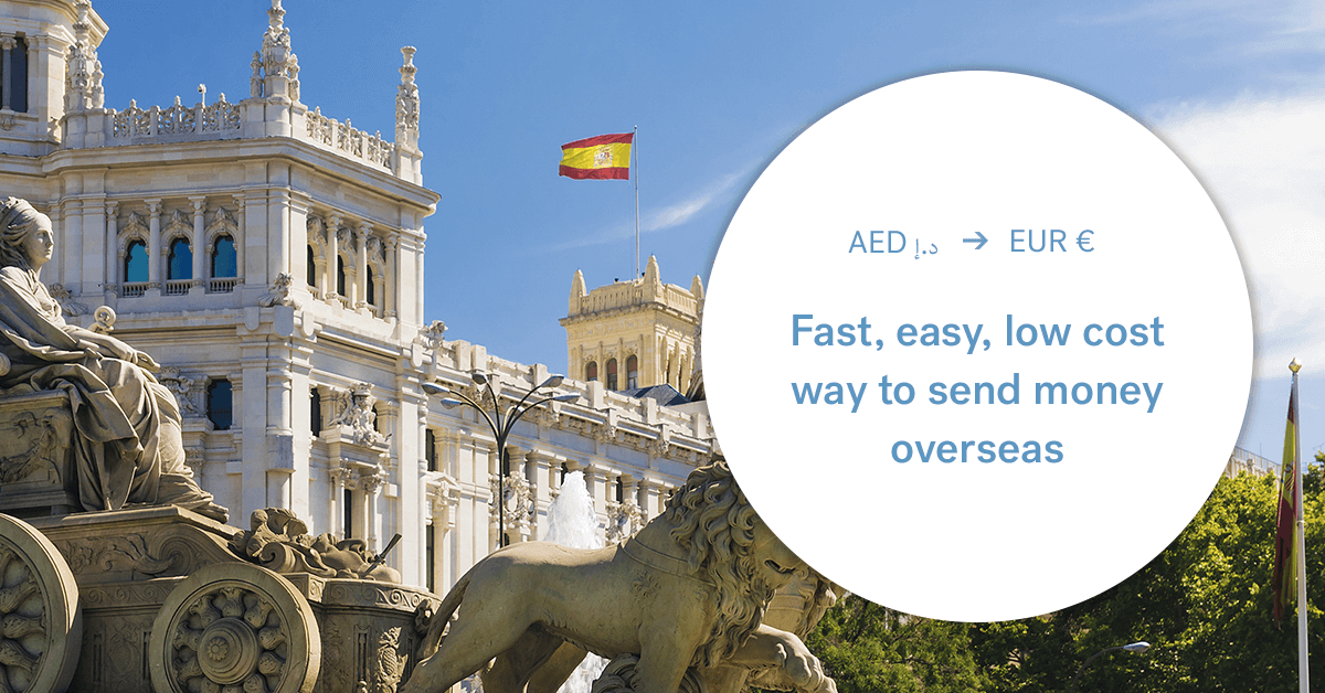The best way to send money between the UAE and Spain