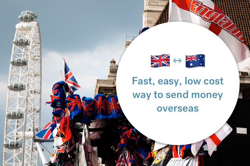 The best way to send money between Australia and the UK