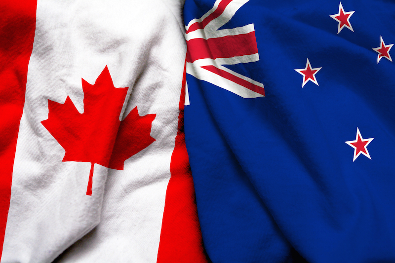 The best way to send money from Canada to New Zealand