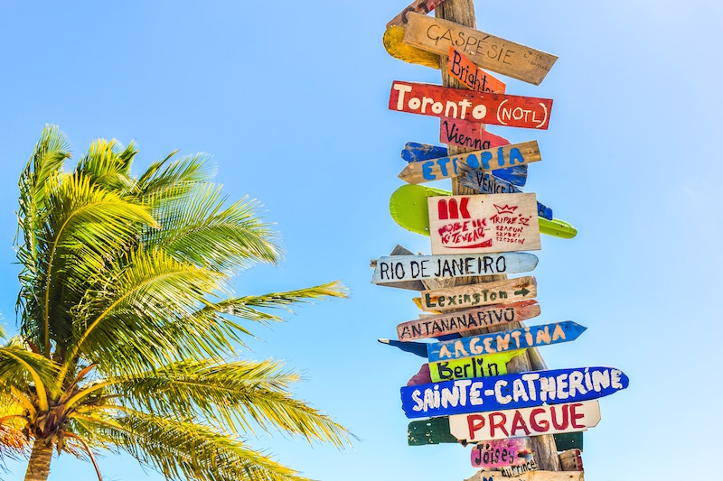 Top 5 Countries for expats to move to