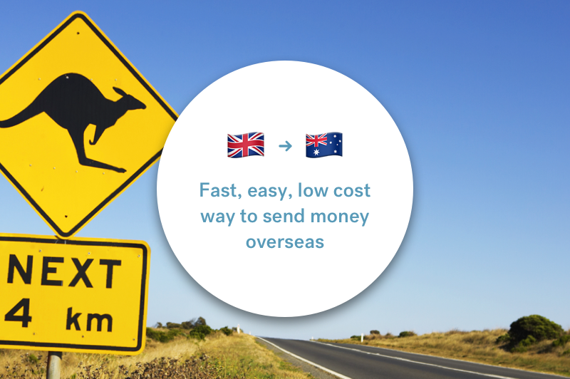 The best way to send money between the UK and Australia