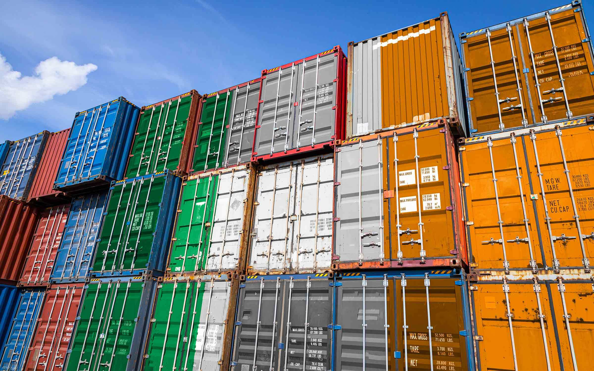 Shipping container costs skyrocket but optimism builds