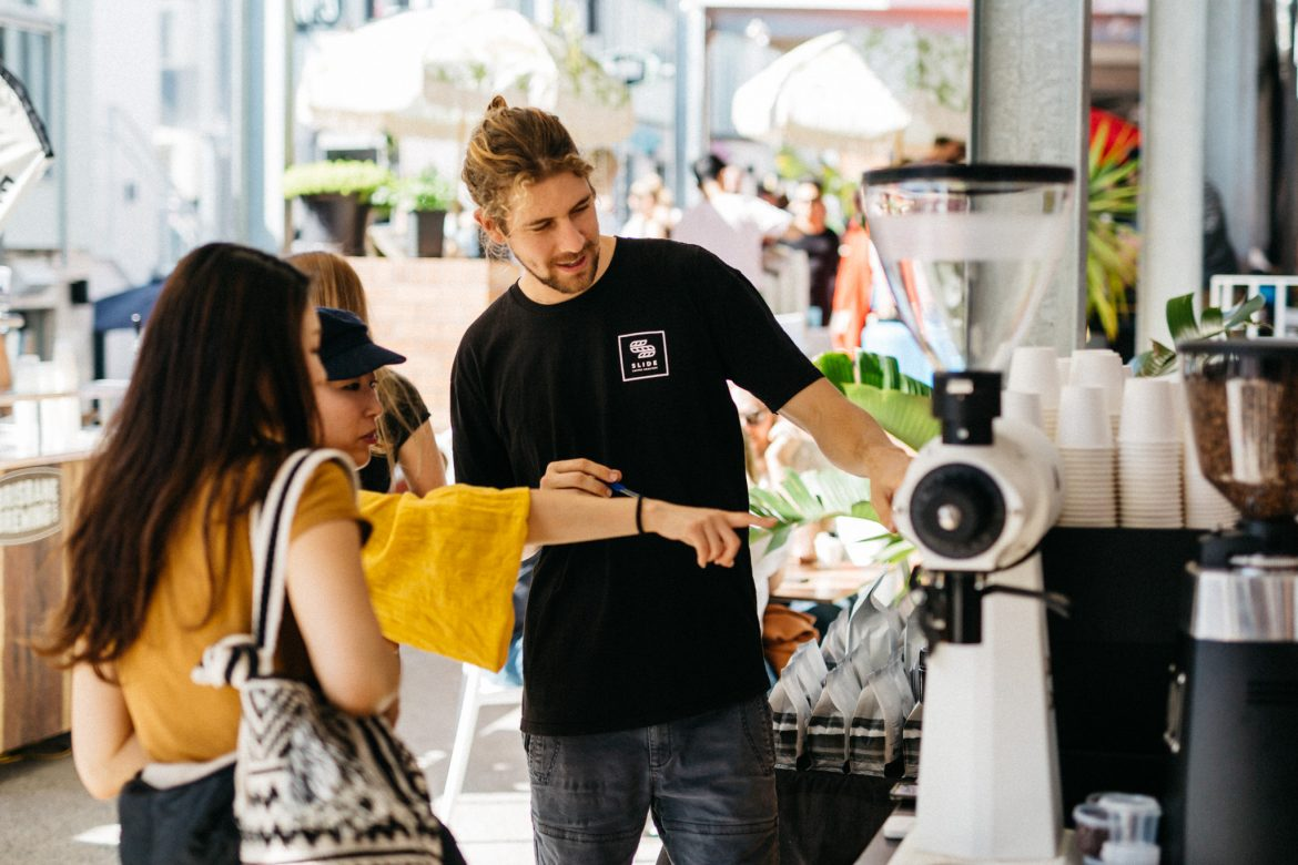 How Aaron's brewing a global community through sustainably sourced coffee